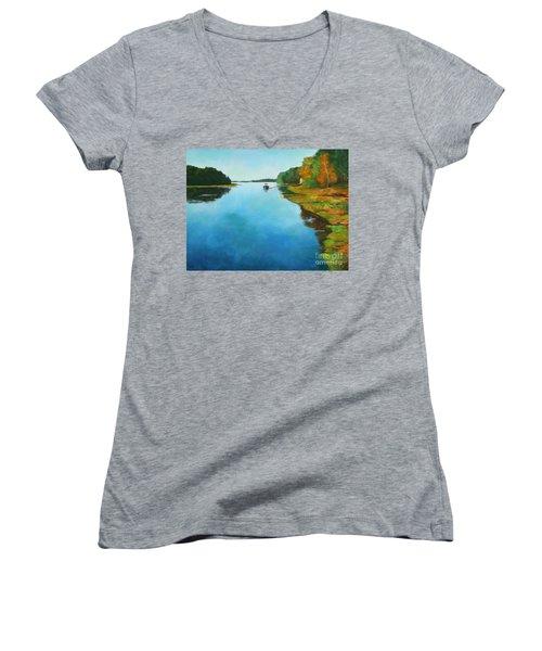 Little River Gloucester Women's V-Neck T-Shirt