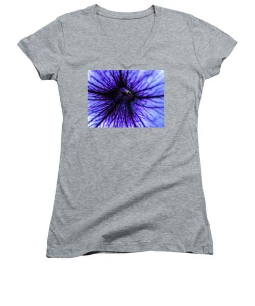 Women's V-Neck T-Shirt (Junior Cut) featuring the photograph Look Within by Tiffany Erdman