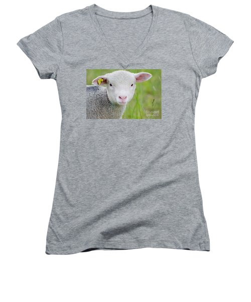 Young Sheep Women's V-Neck