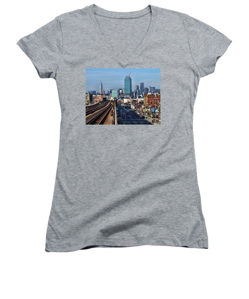 46th And Bliss Women's V-Neck
