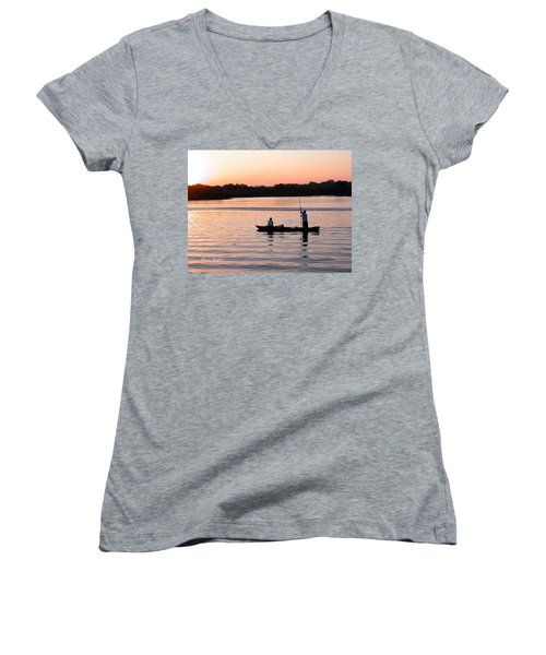 A Fisherman's Story Women's V-Neck (Athletic Fit)
