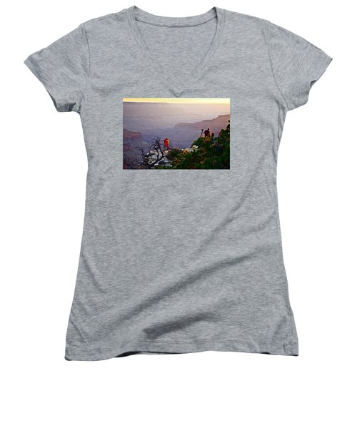 A Grand Meeting Place Women's V-Neck