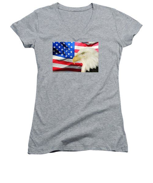 American Women's V-Neck (Athletic Fit)