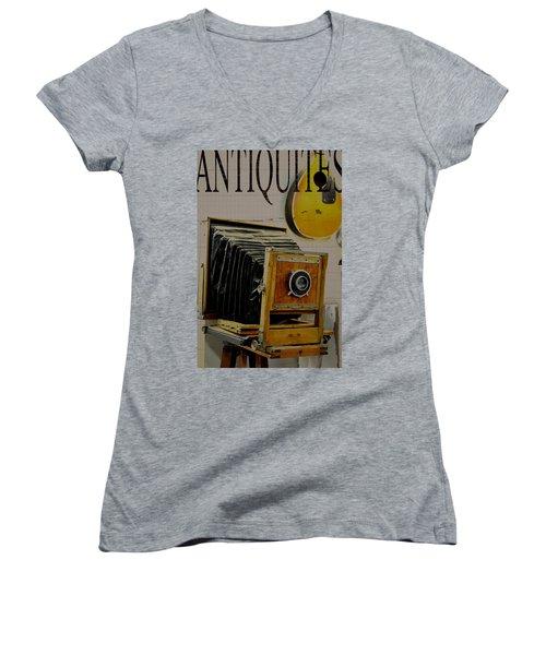 Antiquites Women's V-Neck (Athletic Fit)