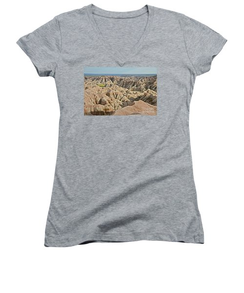 Badlands  Women's V-Neck T-Shirt