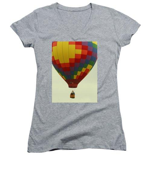 Balloon Ride Women's V-Neck