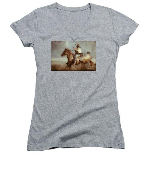 Blazing  Women's V-Neck T-Shirt
