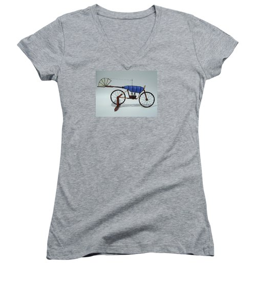 Blue Caravan Women's V-Neck T-Shirt