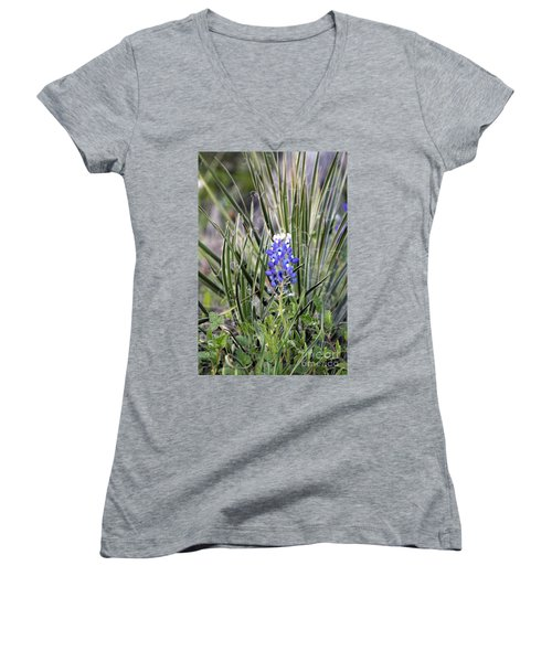 Bonnet Spines Women's V-Neck T-Shirt