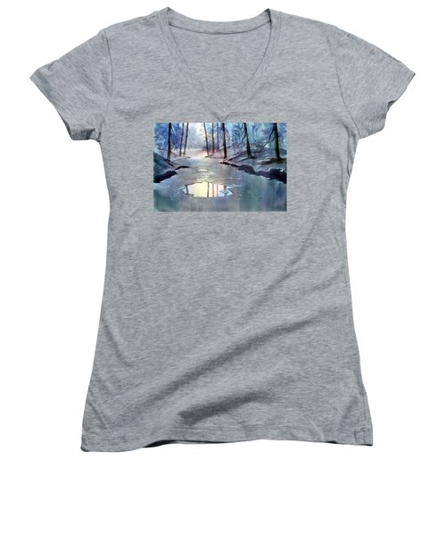 Breaking Ice Women's V-Neck