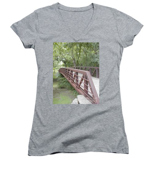 Bridge To Beyond Women's V-Neck T-Shirt