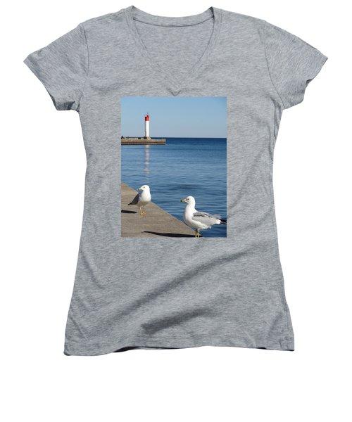 Bronte Lighthouse Gulls Women's V-Neck