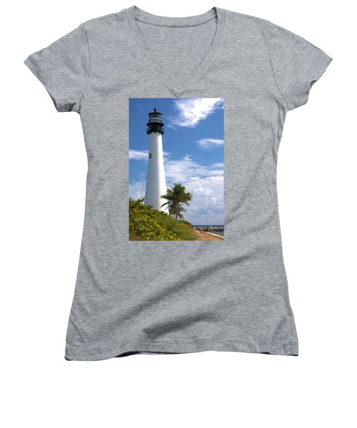 Cape Florida Lighthouse Women's V-Neck