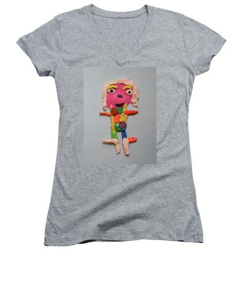 Caroline Women's V-Neck T-Shirt
