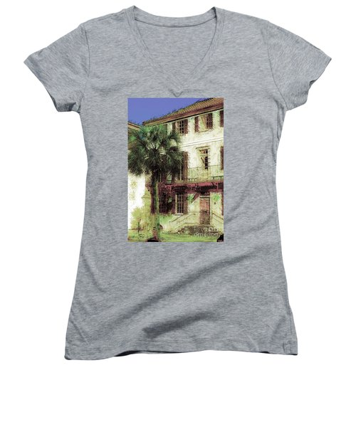 Charleston Homes Women's V-Neck