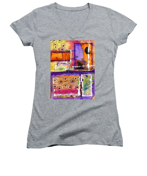 Cheery Thoughts - Warm Wishes Women's V-Neck