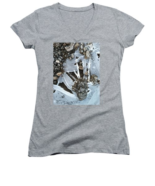 Claw Women's V-Neck T-Shirt (Junior Cut)