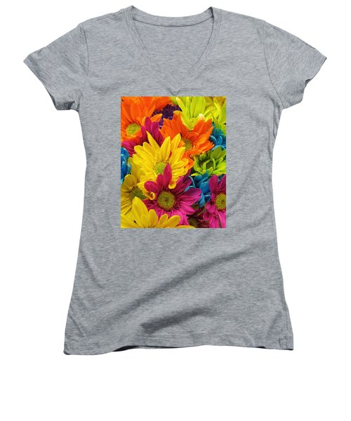 Colossal Colors Women's V-Neck T-Shirt