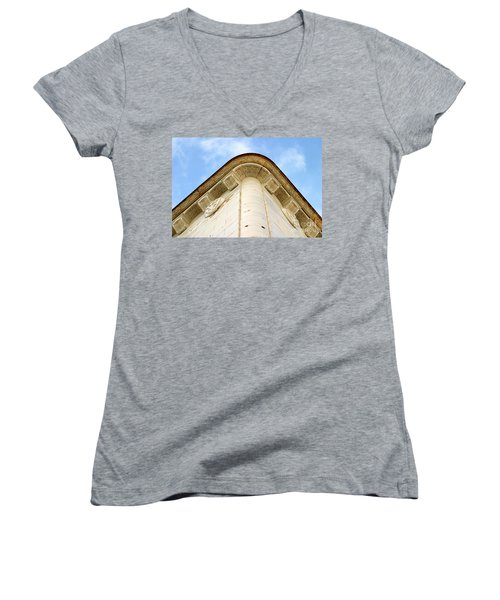 Corner Building Women's V-Neck T-Shirt