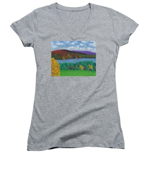 Crisp Kripalu Morning Women's V-Neck
