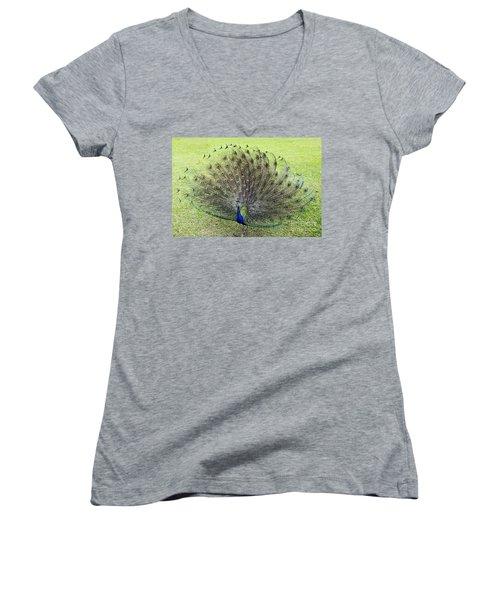 Dance With Me Women's V-Neck T-Shirt (Junior Cut) by Teresa Zieba