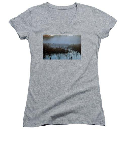 Daybreak Marsh Women's V-Neck T-Shirt