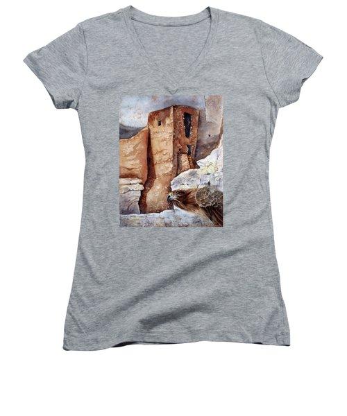 Desert Dwellers Women's V-Neck T-Shirt