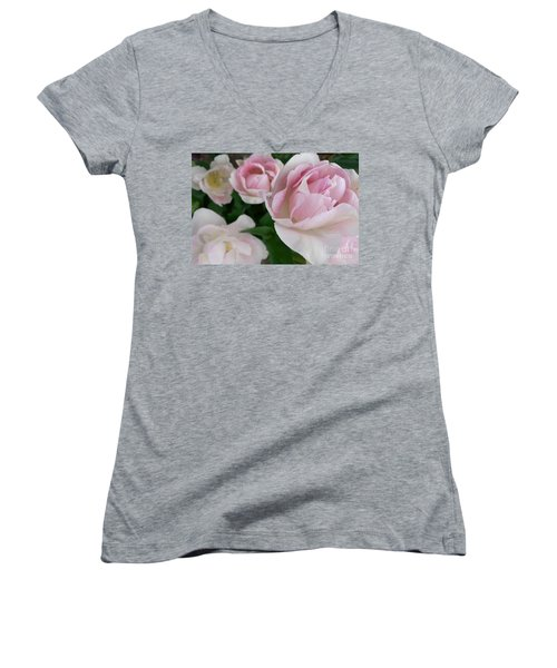 Double Pink Women's V-Neck (Athletic Fit)