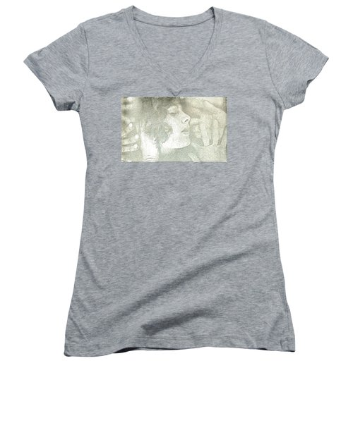 Dreaming Women's V-Neck T-Shirt (Junior Cut) by Rory Sagner