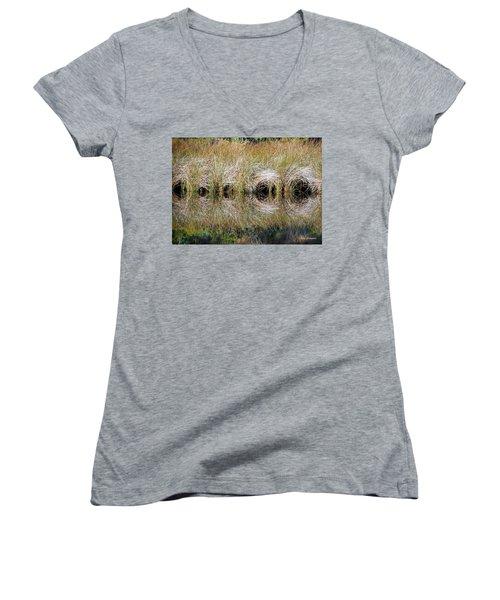 Escape Hatches Women's V-Neck T-Shirt