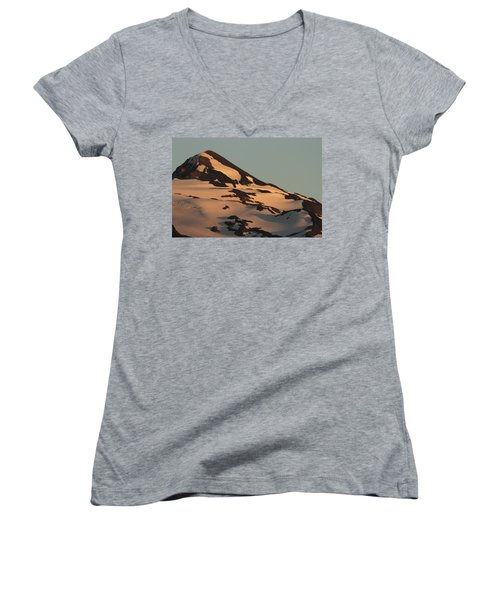 Evening Into Night Women's V-Neck T-Shirt