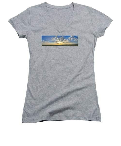 Fantastic Voyage Women's V-Neck T-Shirt (Junior Cut) by Brian Duram