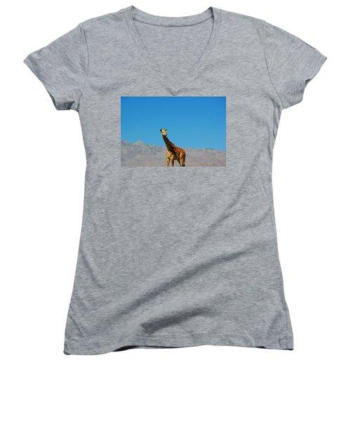 Far From Home Women's V-Neck T-Shirt