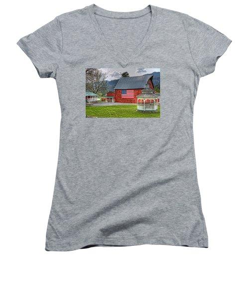 Feeling Patriotic Women's V-Neck T-Shirt