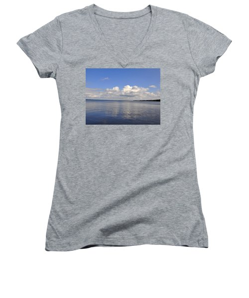 Floridian View Women's V-Neck T-Shirt