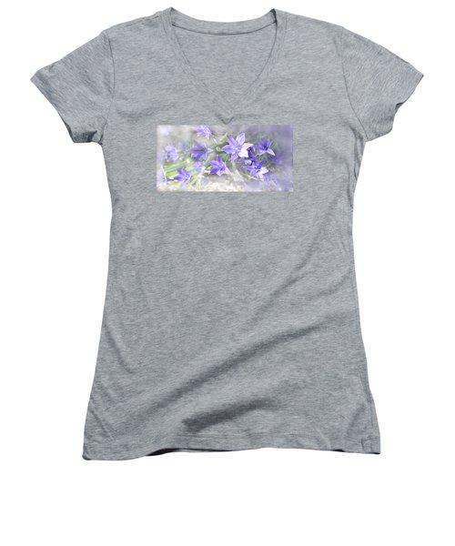 From My Garden Women's V-Neck T-Shirt (Junior Cut) by Kume Bryant