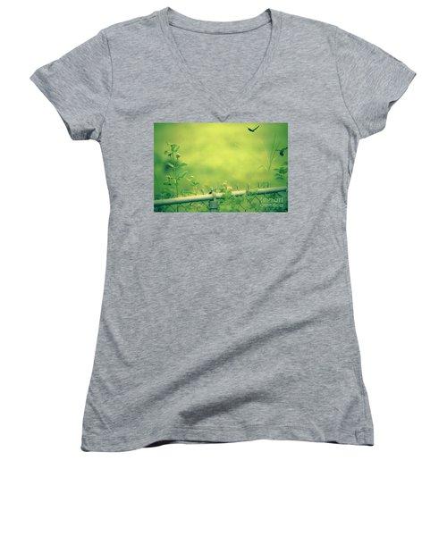 God's Love  Series One Women's V-Neck T-Shirt
