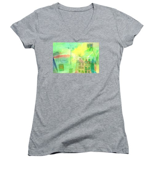 Going Places Women's V-Neck T-Shirt
