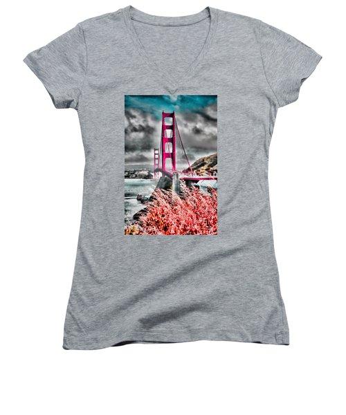 Golden Gate Bridge - 5 Women's V-Neck