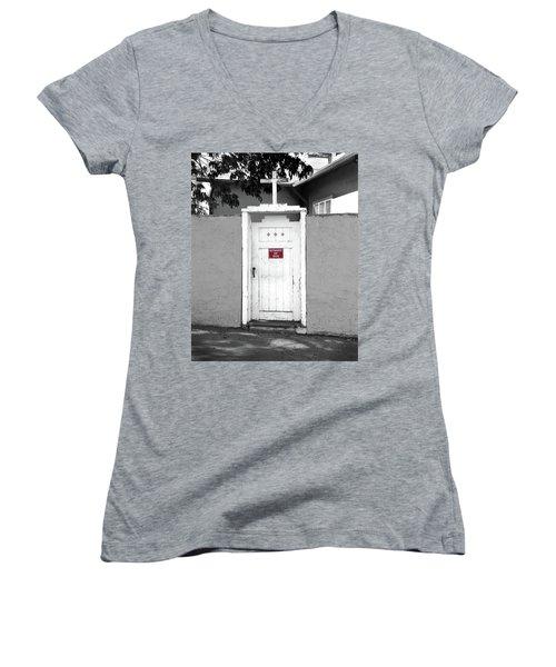 Guard Dogs For God Women's V-Neck T-Shirt