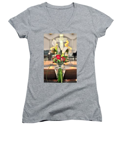 Holy Water Women's V-Neck T-Shirt
