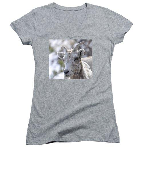 How Close Is Too Close Women's V-Neck T-Shirt