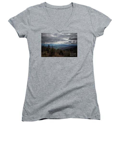 I Can See For Miles Women's V-Neck (Athletic Fit)