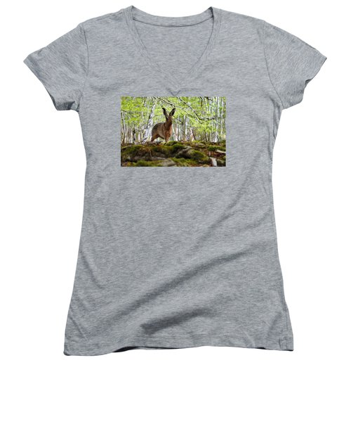I'm All Ears Women's V-Neck