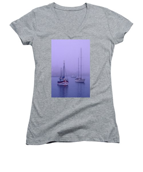 In The Mist Women's V-Neck (Athletic Fit)