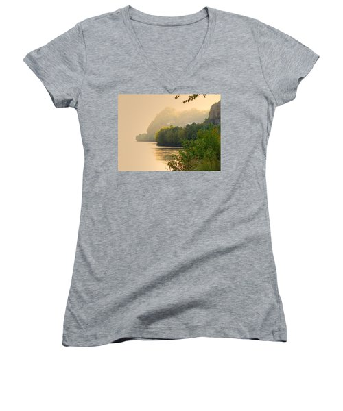Islands In The Stream II Women's V-Neck (Athletic Fit)