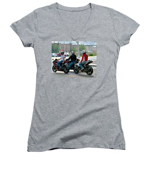 Joy Ride Women's V-Neck T-Shirt