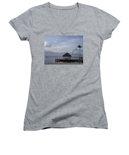Key Largo Retreat Women's V-Neck (Athletic Fit)