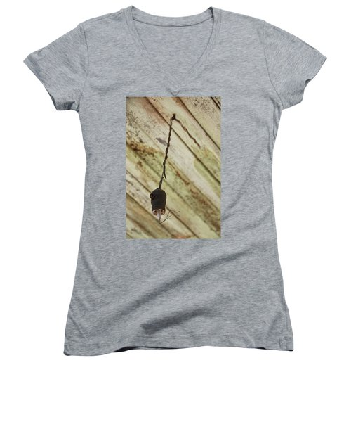 Lights Out Women's V-Neck