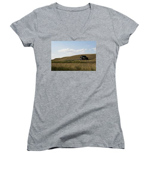 Little House On The Plains Women's V-Neck